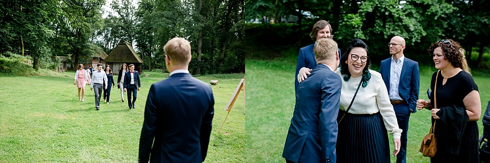 Begrüßung der Gäste, Heiraten im Haverbeckhof Bispingen - Jana Richter fotografie-32.jpg
